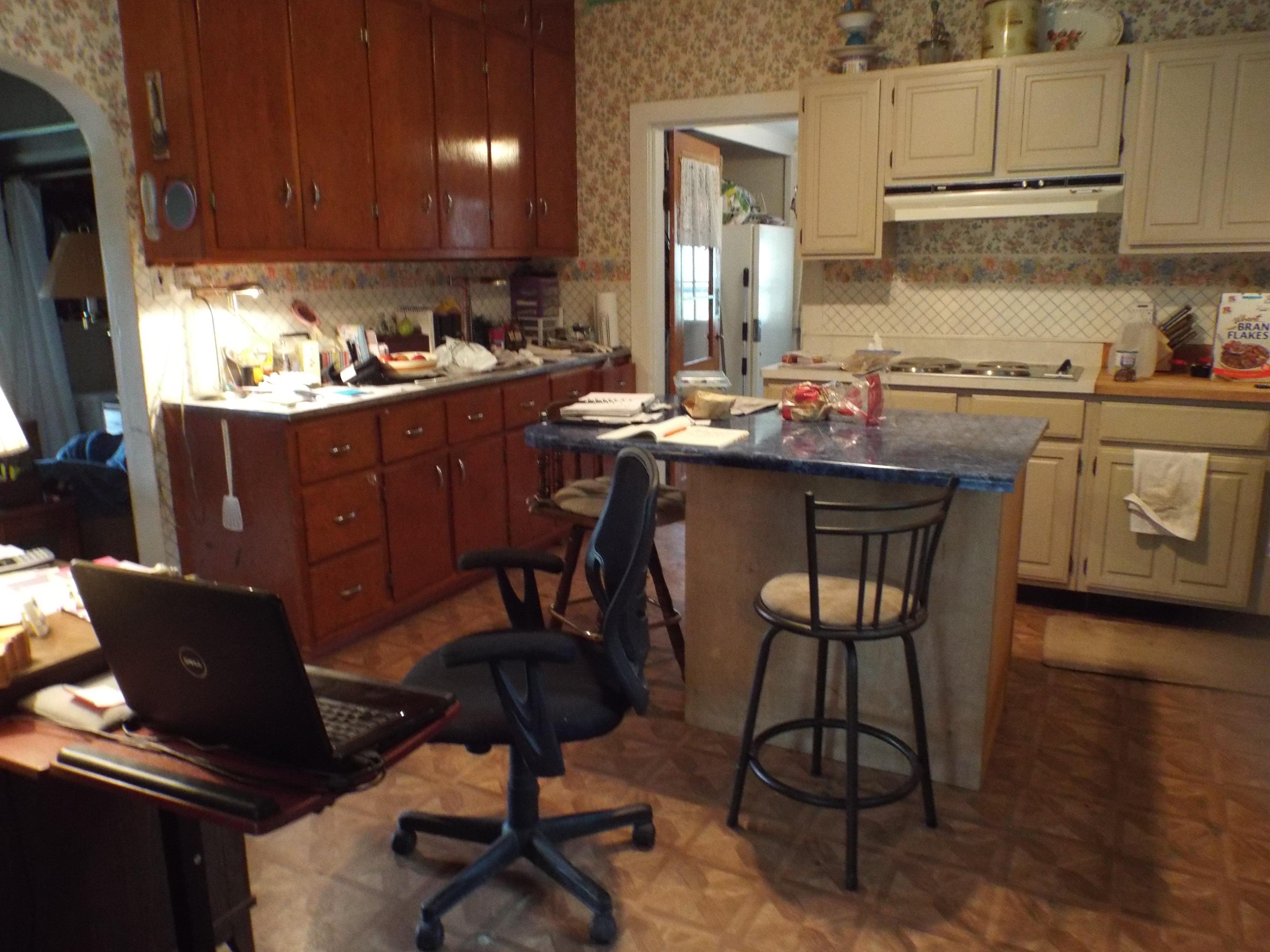 Kitchen during gardening 019