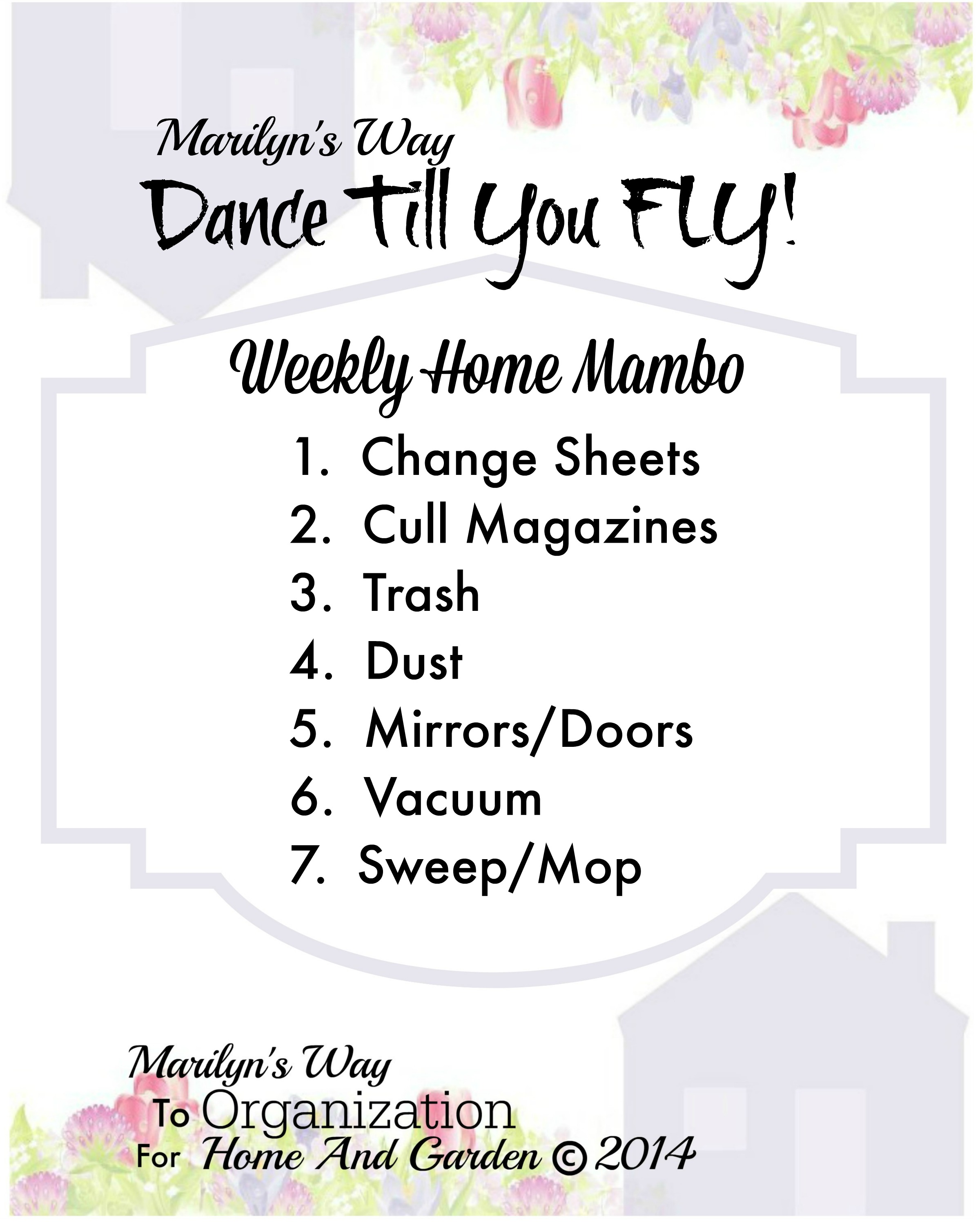 Weekly homemambo14