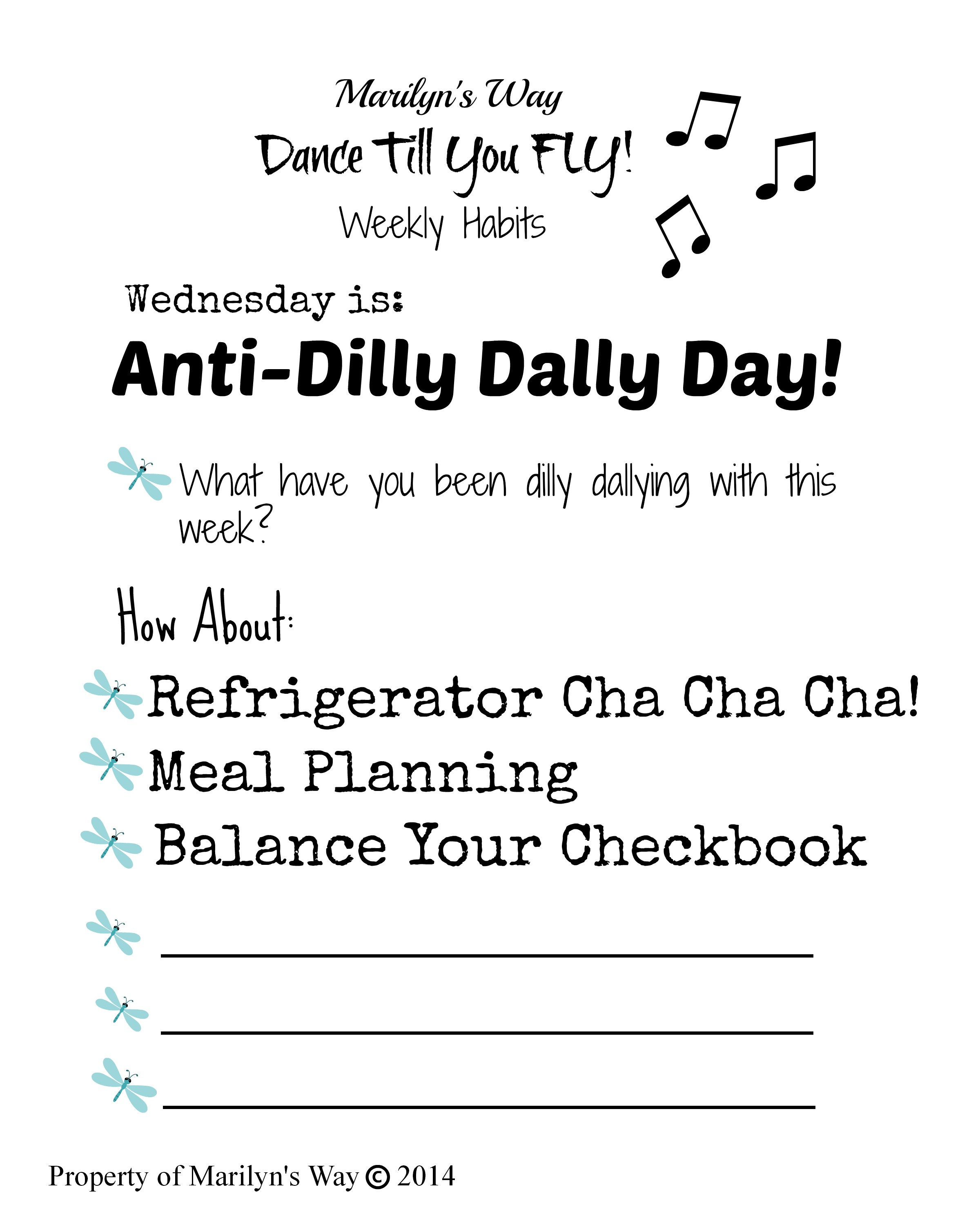Anti Dilly Dally Form