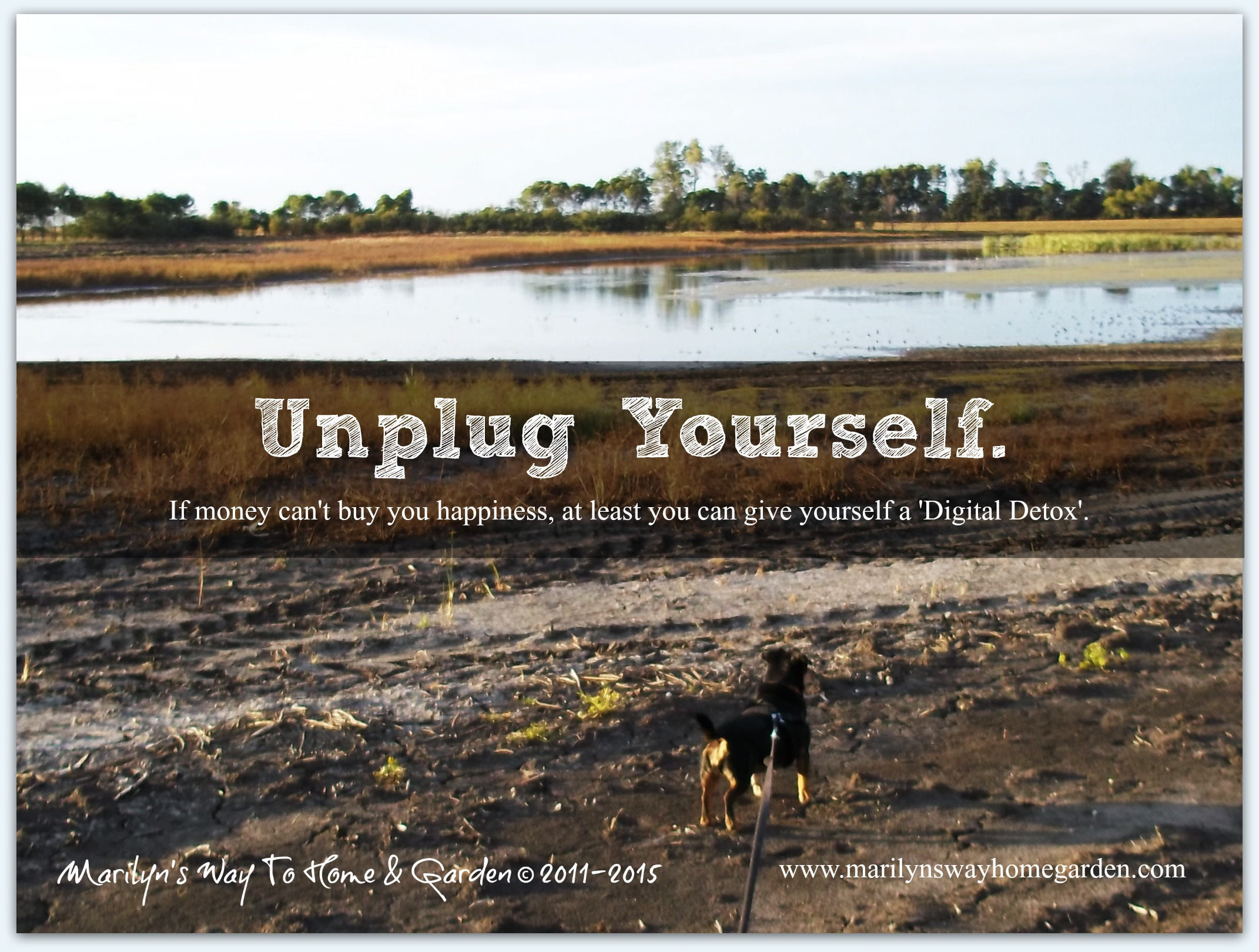 Unplug Yourself.